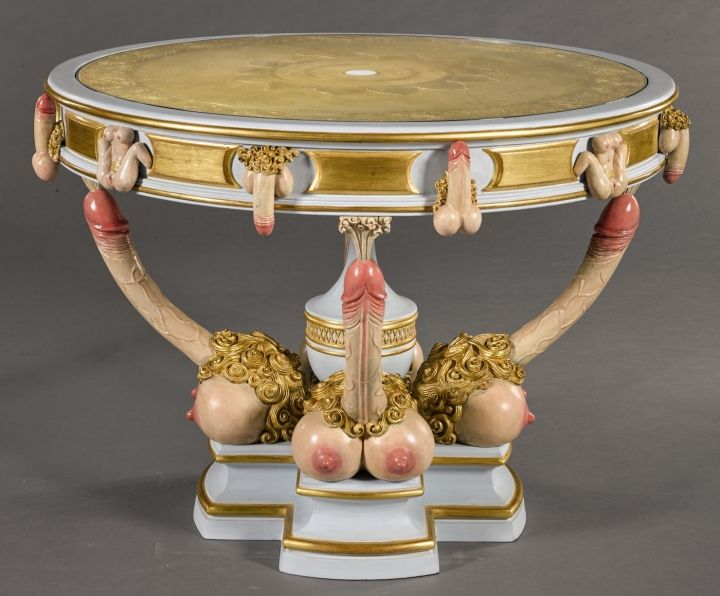 From a Table of Phalluses to a Ménage à Trois Watercolor, Erotic Art Heads to Auction