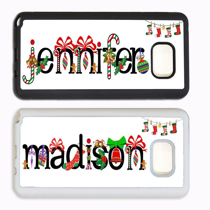 CUTE CHRISTMAS PHONE Case For Samsung Galaxy S7 S6 NOTE CUSTOM PERSONALIZED NAME #UnbrandedGeneric
