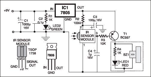 remote tester build circuit