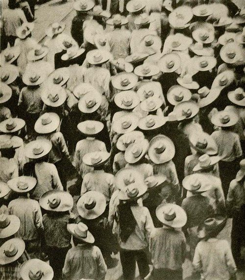 Mexican Hats, 1924 by Tina Modotti