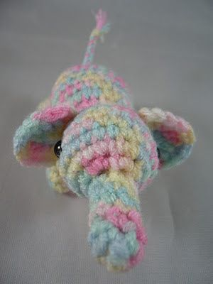 "Amigurumi ""Smellie the ellie""."