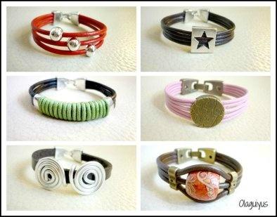 Nuevas pulseras de cuero