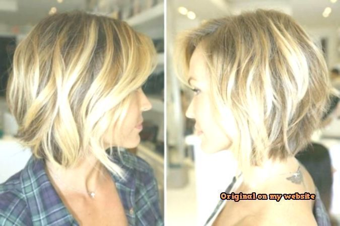 Bob Hairstyles 2019 Hairstyles Medium-length Stage With S … – # 2019Hairstyle #Bob #Fris …, # 2019Fr …