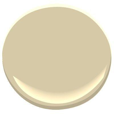 Benjamin Moore Butter Cream, classic deep cream with green gray undertones