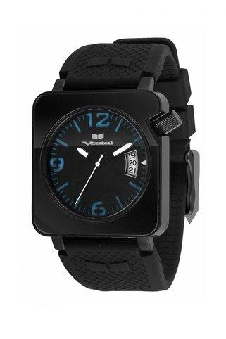Vestal Chronical Watch Triple Black Blue