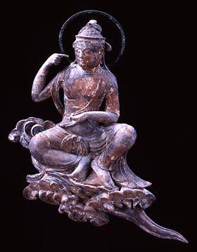 Japanese National Treasure, Statue of Unchu Kuyo Bosatsu 雲中供養菩薩像 南10号像(平等院)