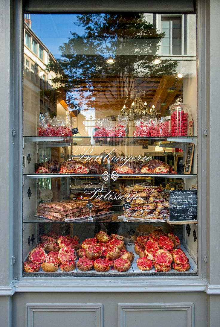 Bakery of dreams. Lyon, France.