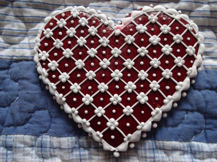 Perníkové srdce •