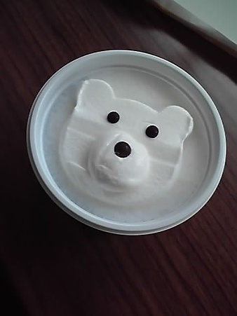 ice cream polar bear