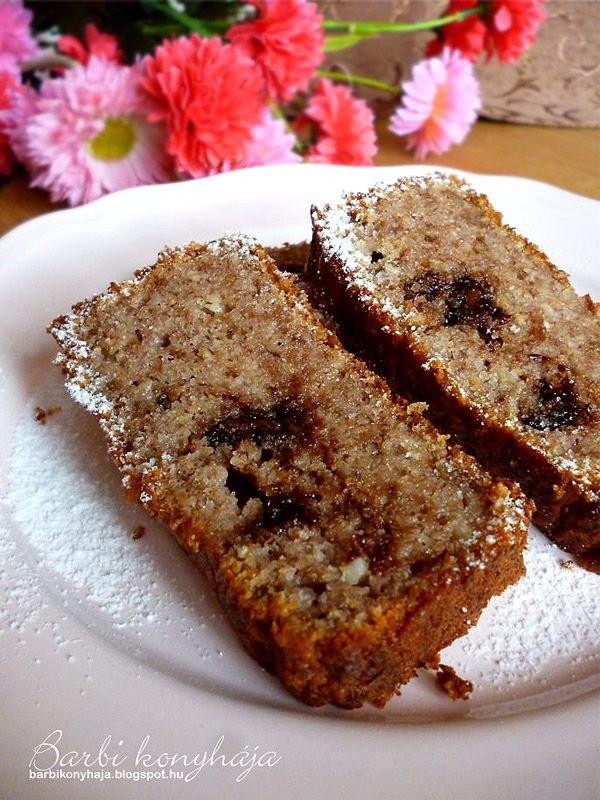 Barbi konyhája: Banánkenyér - fehér lisz és cukormentes