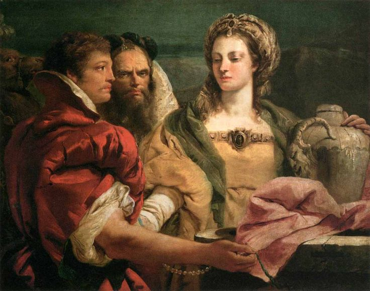 The Athenaeum - Rebecca at the Well (Giandomenico Tiepolo - )