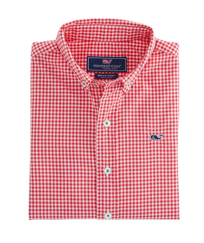 b5f938d1af5 Old Town Gingham Whale Shirt Boys Dress Shirts, Boys Shirts, Whale Shirt,  Kai