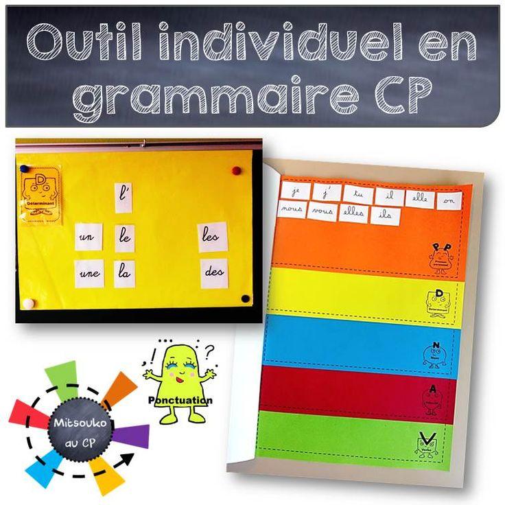 Pour les élèves de CP, l'initiation aux catégories grammaticales n'est pas simple. Voici mon nouvel outil !