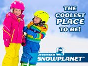 Win a double day pass combo for two kids at Snowplanet! Entries close 17 April 2016