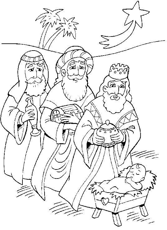 Bildergebnis für heilige drei könige ausmalbild