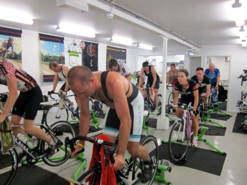 Mega Spin, our unique indoor cycling coaching system, allows you to discover your cycling potential.  Hone your technique and blow your fitness through the roof.  Visit our website for more information