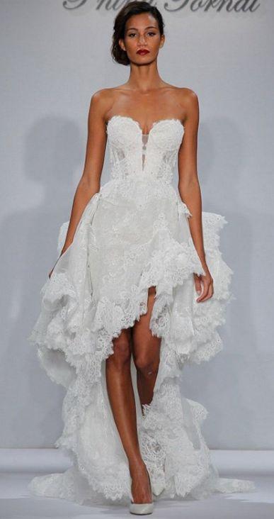 Featured Dress: Pnina Tornai for Kleinfeld; Wedding dress idea.