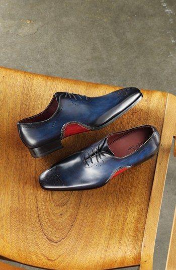 Magnanni 'Vito' Medallion Toe Leather Oxford | Nordstrom