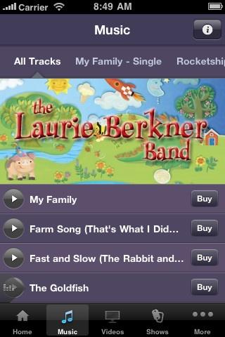 The Laurie Berkner Band App {We <3 Laurie Berkner!}