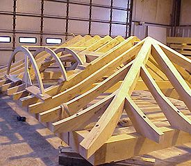 TIMBER CONSTRUCTION FRAME