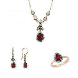 Altın 3'lü Mini Set Wedding Jewelry/ GELİN MÜCEVHERLERİ, #gelin #gelinlik #düğün #bride #wedding #gelinlik #weddingdresses #weddinggown #bridalgown #marriage #gelintakısı #pırlanta #diamond #jewellery #jewelry #pearl  www.gun-ay.com
