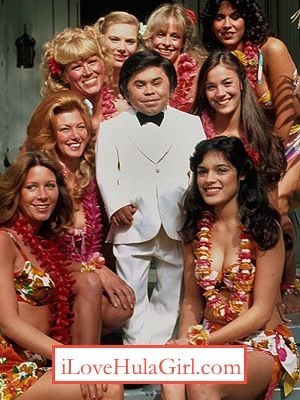 Tattoo hula girls from fantasy island hollywood loves for Tv show with tattooed woman