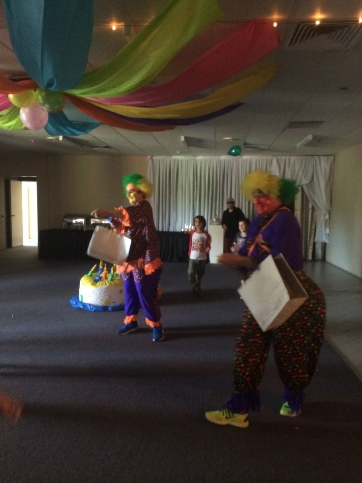 Our Clowns are a huge hit with the kids