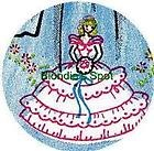 Hand Embroidery Pattern 185 Southern Bell Flowers for Linens 1950s