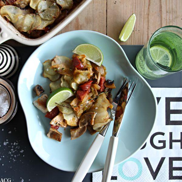 Kyllingform med sopp og timian - Enestående MatEnestående Mat