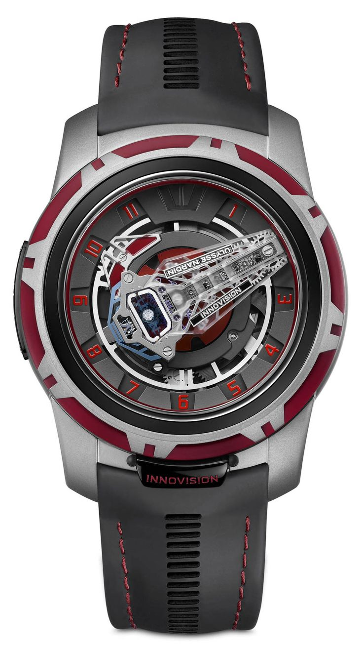 Ulysse Nardin InnoVision 2 Concept Watch Is Stuffed With Technical Innovation Watch Releases