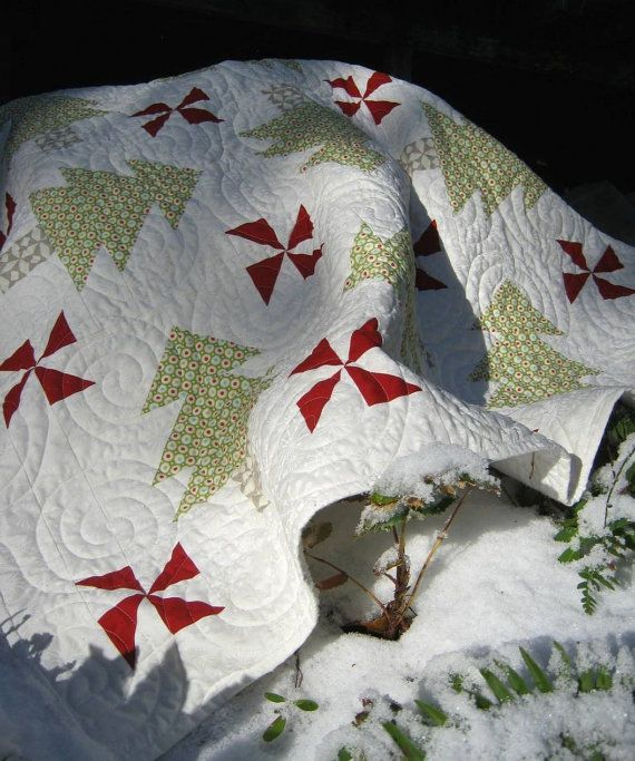 Poppa's Tree Farm quilt pattern.  For the by LaughingStitching