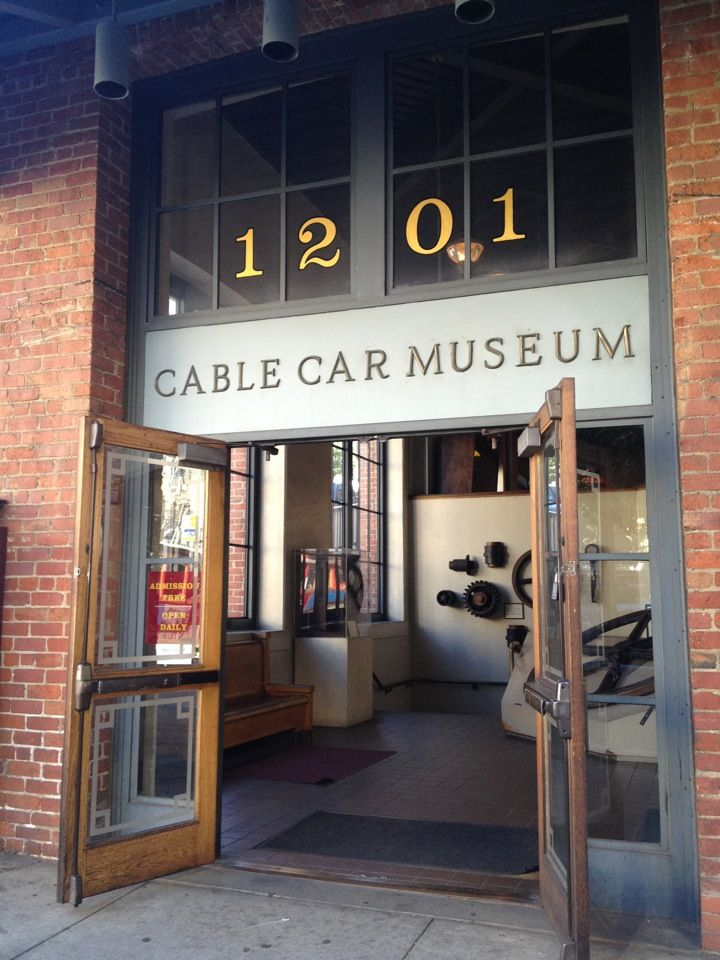San Francisco Cable Car Museum in San Francisco, CA (maybe? Can buy replica of signal bells)