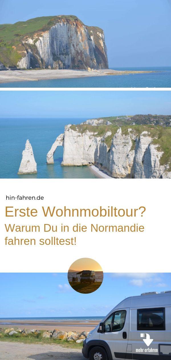 Die Normandie ist ideales Reiseziel für Wohnmobil-Einsteiger oder mit dem Mietmobil – Hin-Fahren – wo es schön ist | Wohnmobil-Reisen – Ziele & Camper-Tipps