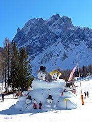 The Puppet Family of Croda Rossa (The end of ski season)
