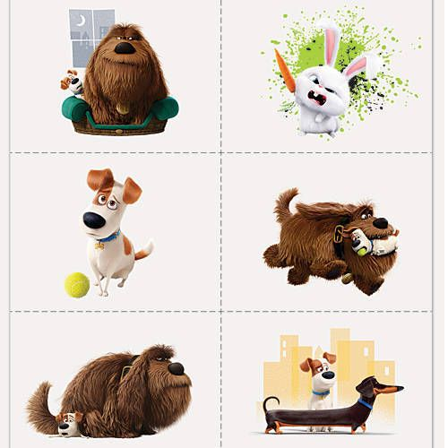 The Secret Life of Pets Tattoos
