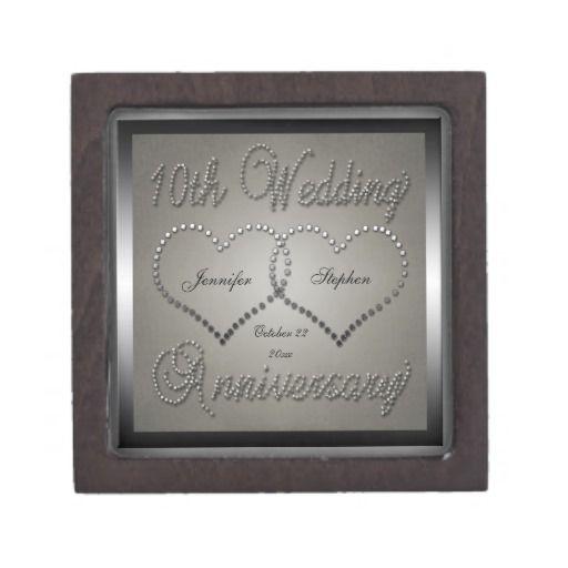 10th Wedding Anniverary Premium Gift Box IdeasWedding GiftsAnniversary