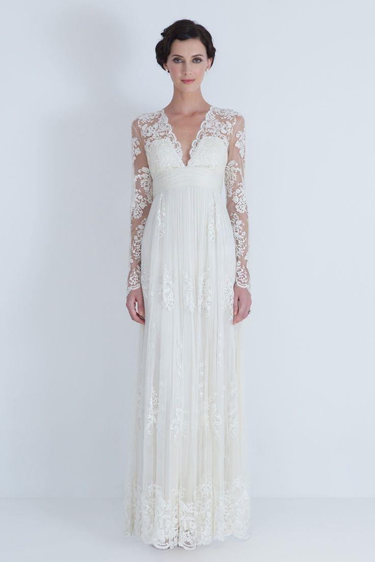 440 best Long Sleeved Wedding Dresses images on Pinterest ...