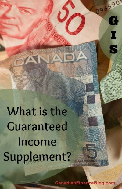 What is the Guaranteed Income Supplement? - http://canadianfinanceblog.com/what-is-the-guaranteed-income-supplement/