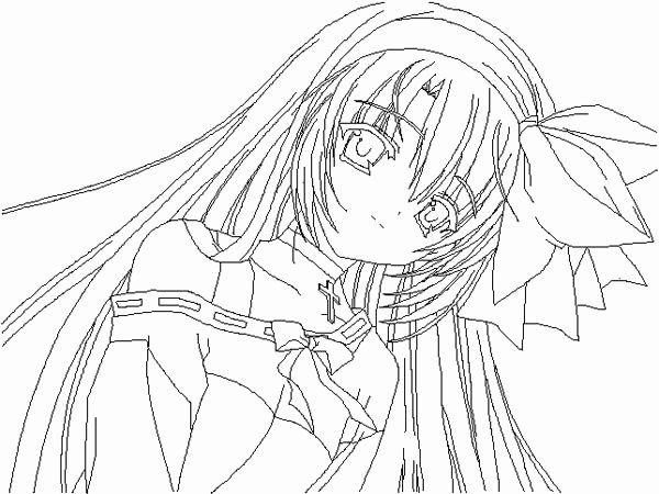 Digital Coloring Anime Best Of Girl Vampire Coloring Pages In 2020