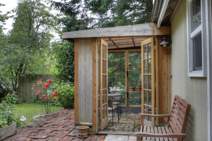 1000 images about hot tub privacy ideas to work with on for Garden room additions