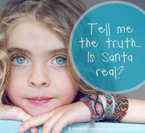 Tell me the truth . . . Is Santa real?  How you answer this loaded question can empower — or completely crush — your child's spirit. This is a must-