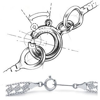 Jewelry Clasp Designs: What Are Spring Ring Clasps?