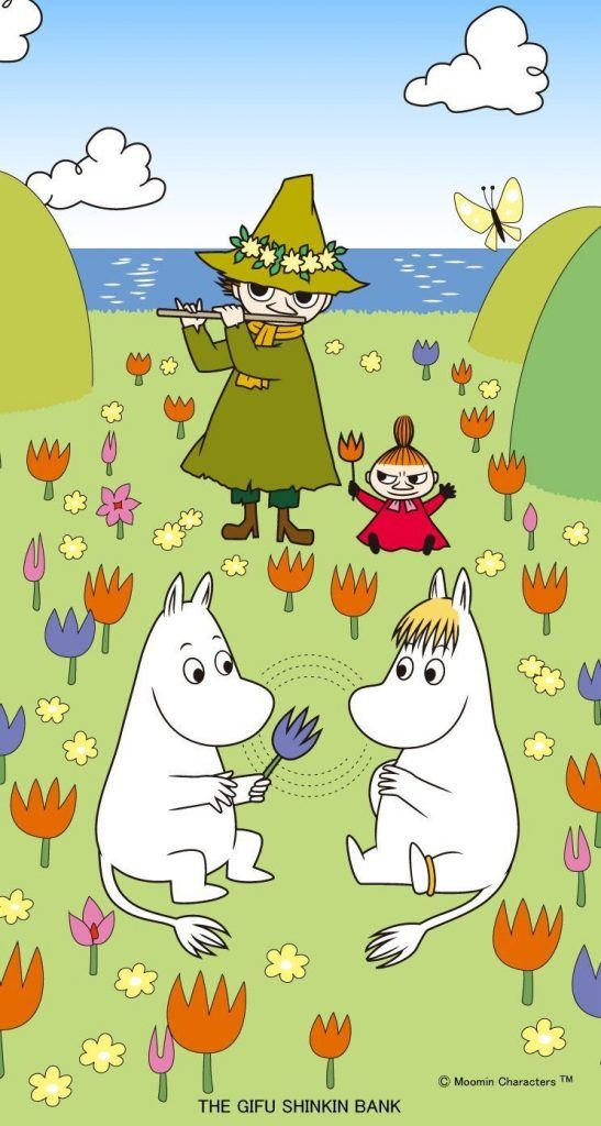 ムーミン/Moomin[13]iPhone壁紙 iPhone 5/5S 6/6S PLUS SE Wallpaper Background