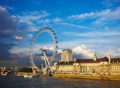 Лондонский глаз, Лондон, Великобритания, Европа