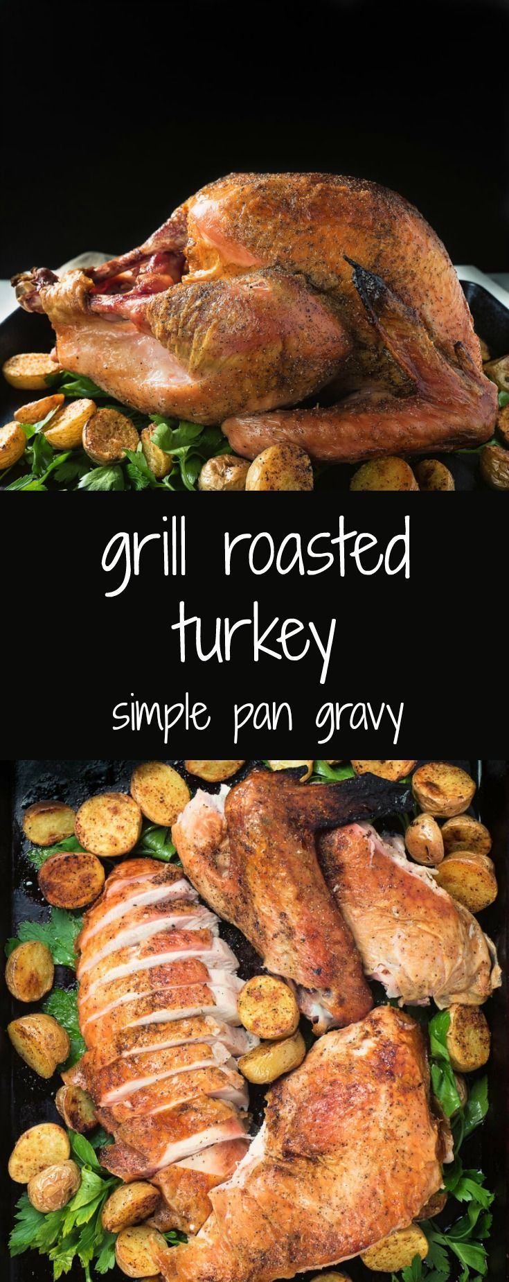 Mix it up with a grill roasted turkey dinner.