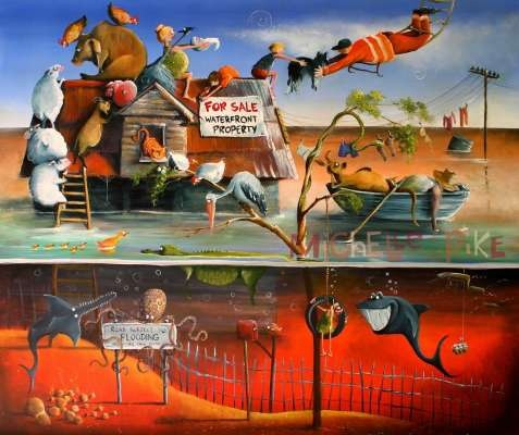 Original painting - Michelle Pike, Australian Artist, Sunshine Coast
