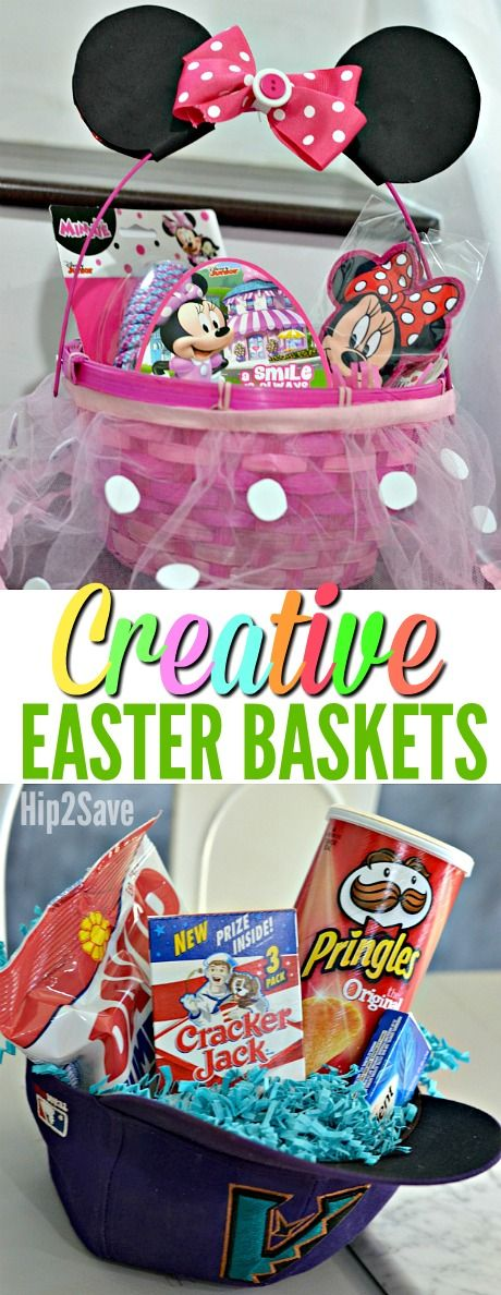 The 25 best creative easter basket ideas ideas on pinterest six easy creative easter basket ideas negle Gallery