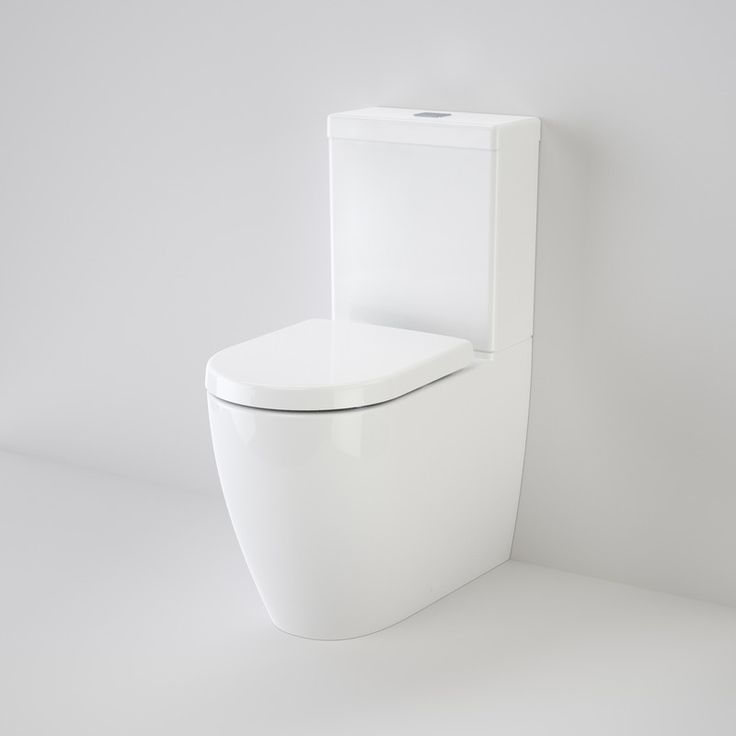 Caroma Urbane 743500W Wall Faced Close Coupled Toilet Suite