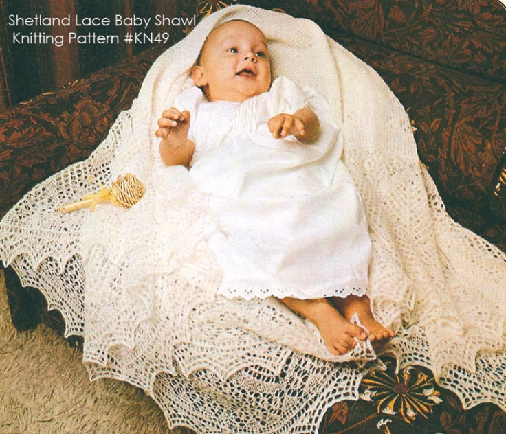 Knitting Patterns For Christening Shawls : 17 Best images about Craft - Wool Children clothes on Pinterest Crochet bab...