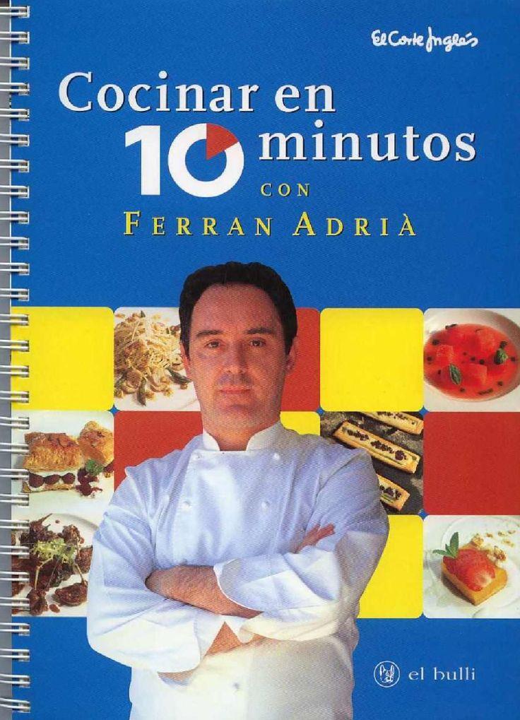 Libro electrónico de Ferran Adrià en español (El Bulli)
